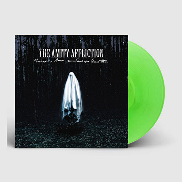 The Amity Affliction - Everyone Loves You… Once You Leave Them LP (Fluro Green)