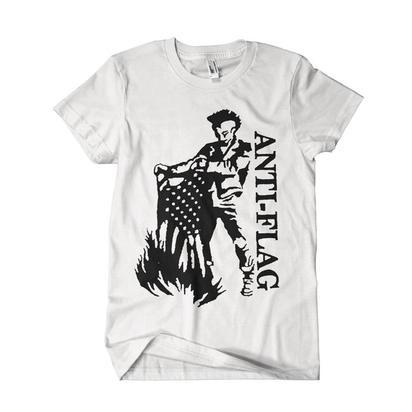 Anti-Flag Flagburner T-shirt White