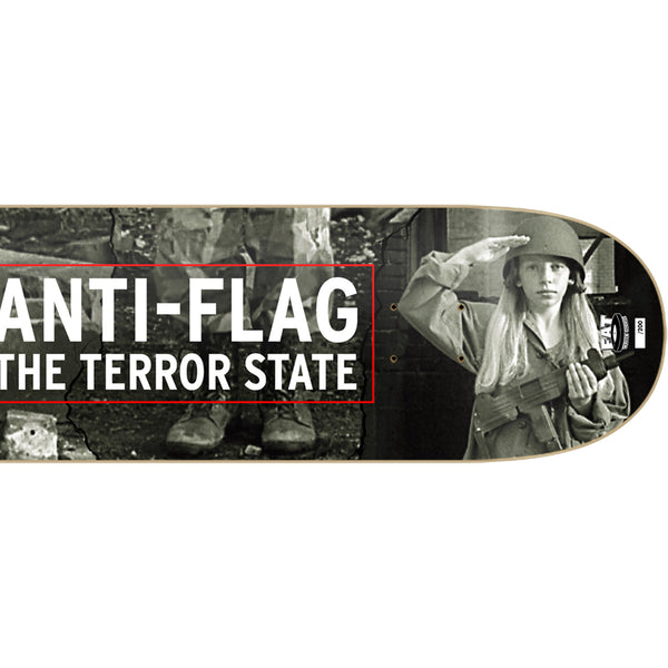 Anti-Flag - The Terror State Skate Deck (Limited Edition) Right detail