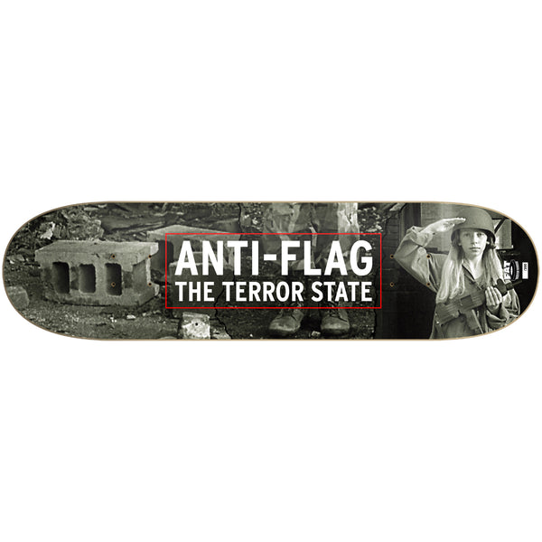 Anti-Flag - The Terror State Skate Deck (Limited Edition)