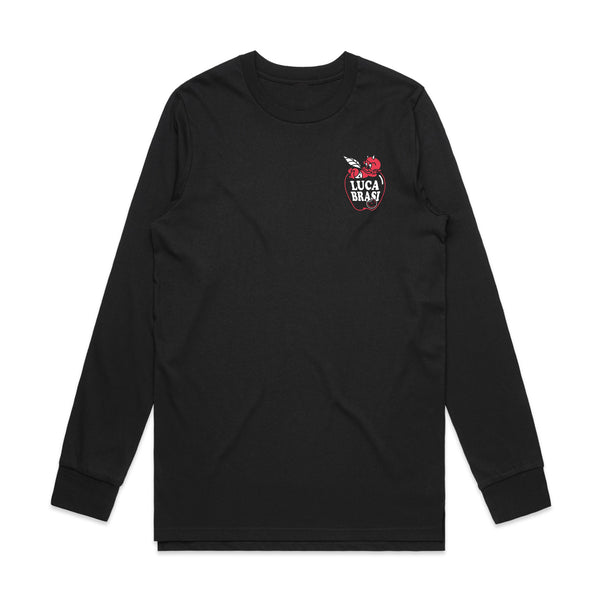 Luca Brasi - Apple Longsleeve (Black) front