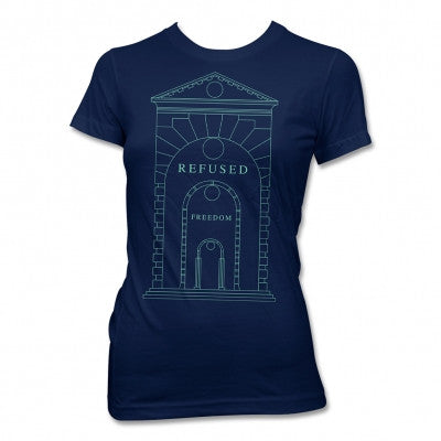 Refused Arch T-shirt (Navy) Womens