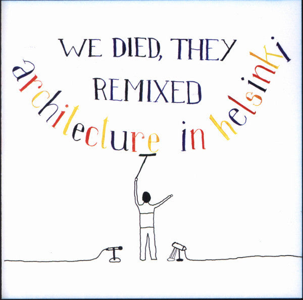 We Died, They Remixed CD