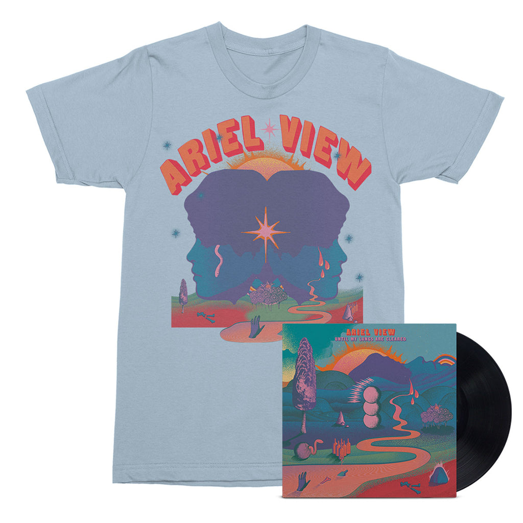 Ariel View - Until My Lungs Are Cleared LP (Black) + T-shirt