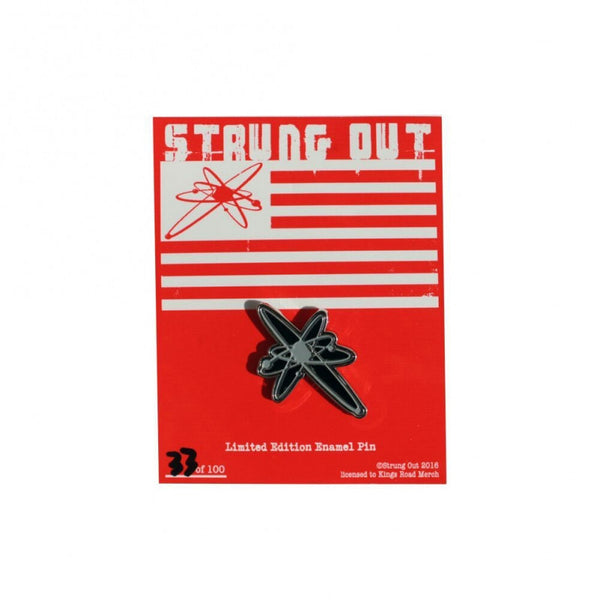 Strung Out Limited Edition Astrolux Enamel Pin Silver