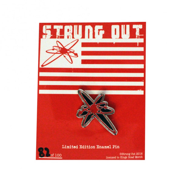 Strung Out Limited Edition Astrolux Enamel Pin Red