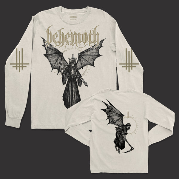 Behemoth - Angel Of Death Long Sleeve (Natural)