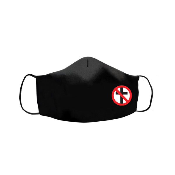 Bad Religion - Small Crossbuster Face Mask (Black)