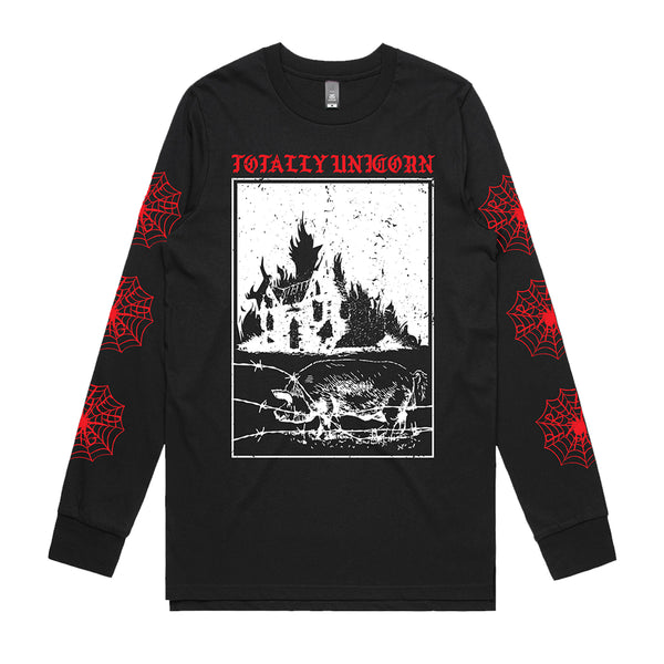 Totally Unicorn - Barn Burner Longsleeve (Black)