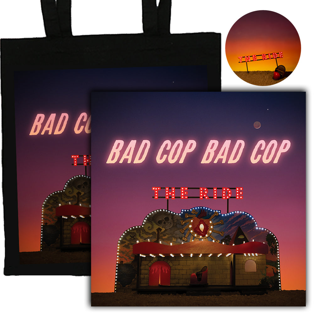 Bad Cop/Bad Cop - The Ride CD + Tote Bag + Pin