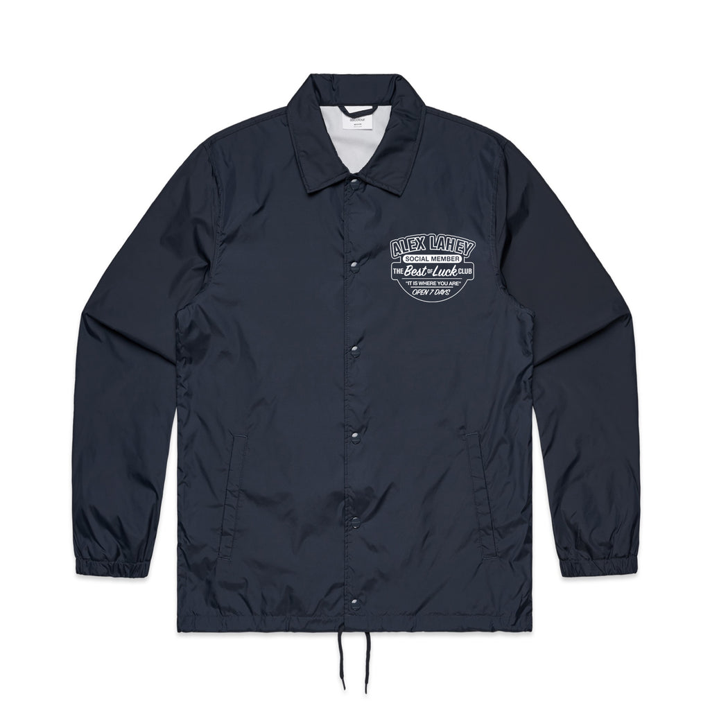Alex Lahey - Best Of Luck Club Windbreaker (Navy)