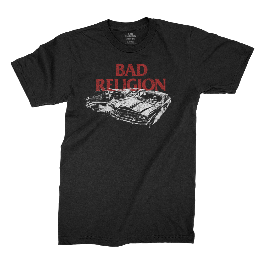 Bad Religion - Crash T-shirt (Black)