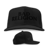 Bad Religion - Text Logo Cross Buster Blackout Hat (Black)