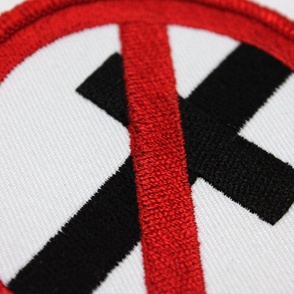 Bad Religion Cross Buster embroidered patch