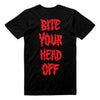 King Parrot - Bite Your Head Off T-shirt (Black) back