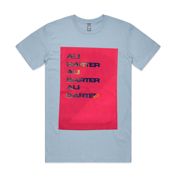 Ali Barter - Repeater Tee (Recycled - Baby blue))