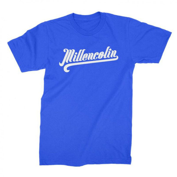 Millencolin - Baseball Script Tee (Royal Blue)