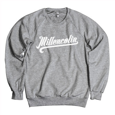 Millencolin Baseball Crewneck Grey