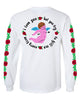 Basement - Cherub Longsleeve (White) Back