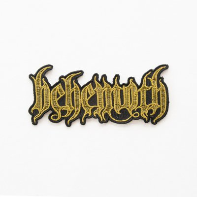 Behemoth - Engraved Logo Patch detail