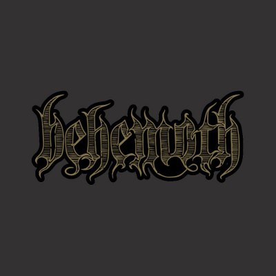 Behemoth - Engraved Logo Patch