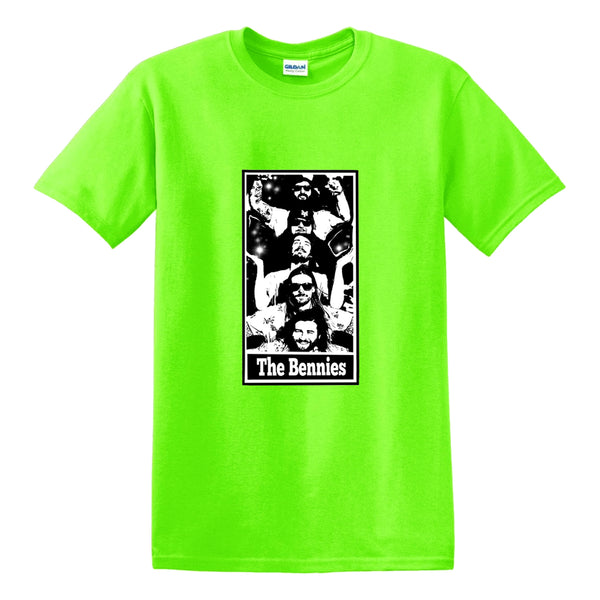 The Bennies - Bennies Totem Tee (Lime Green)