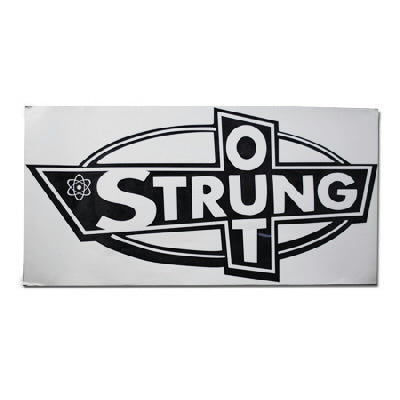 Strung Out - Big Ass OG logo sticker