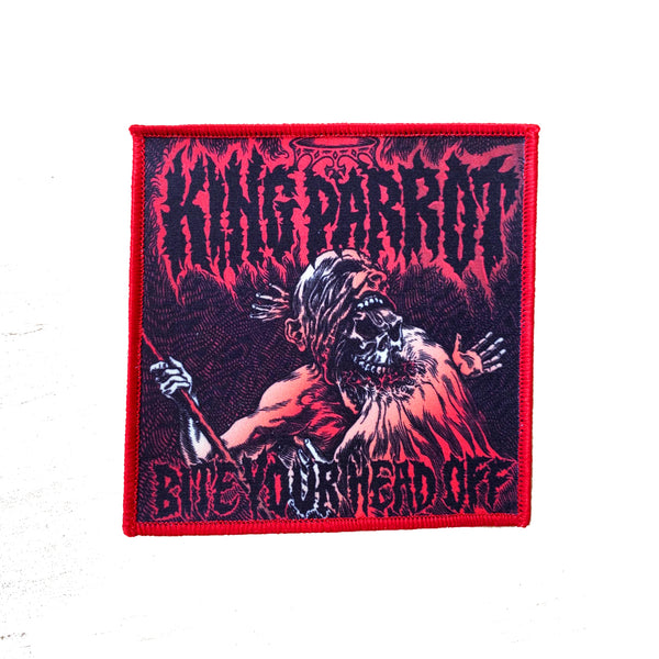 King Parrot - Bite Your Head Off Patch