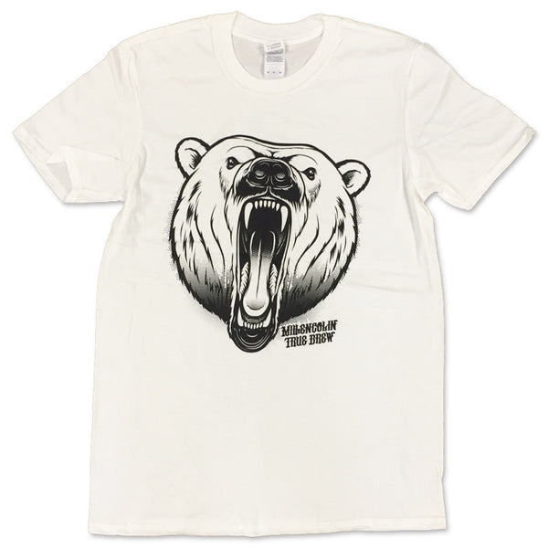 Millencolin Bjorne T-shirt White Tour Ed
