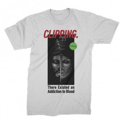 Clipping - Blood Couple Tee (White)