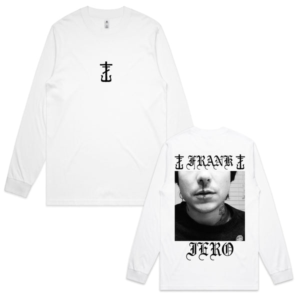Frank Iero - Bloody Nose Long Sleeve (White)