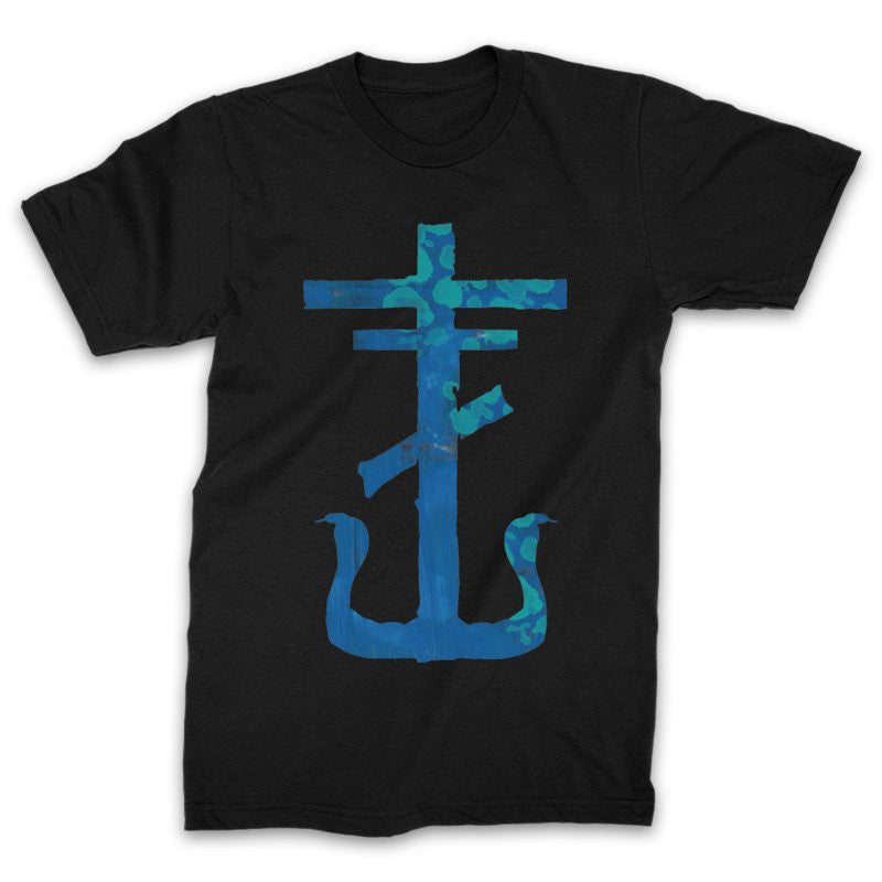 Frank Iero - Blue Cross T-shirt