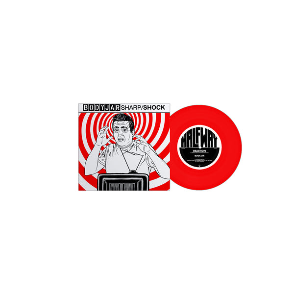 "Bodyjar & Sharp/Shock -  Reaction / Endless Holiday 7"" (Limited Edition) - Red"