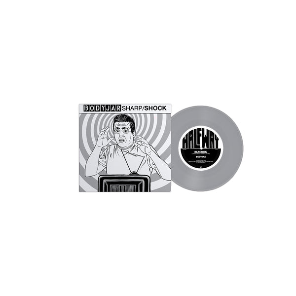"Bodyjar & Sharp/Shock -  Reaction / Endless Holiday 7"" (Limited Edition) - Silver"