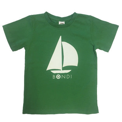 Bondi Kids T-shirt (Green)