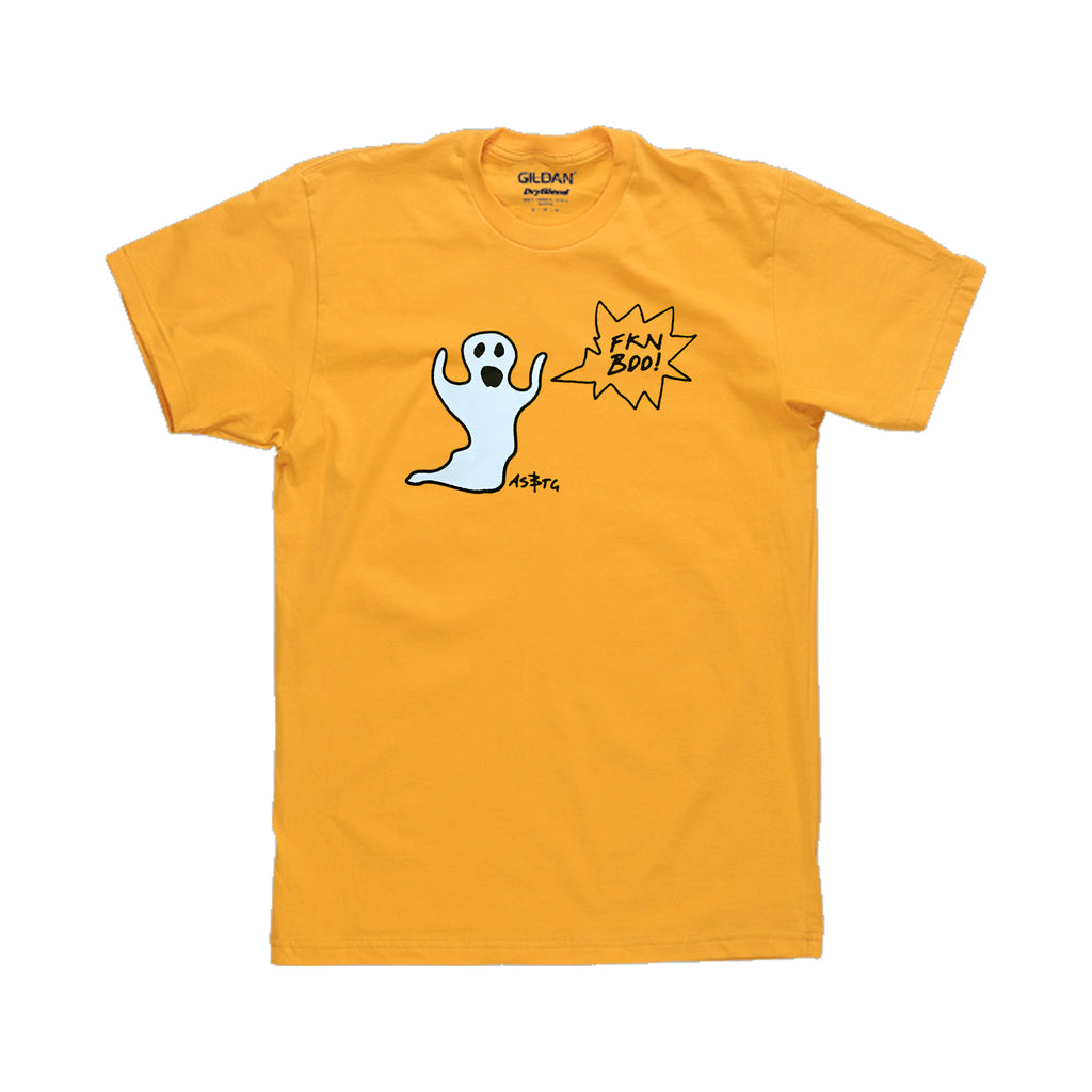A. Swayze & the Ghosts - Boo Tee (Gold)