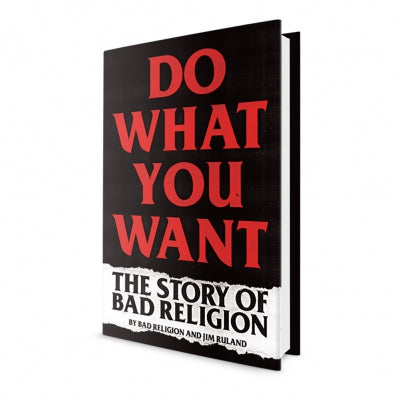 Bad Religion - Do What You Want Book