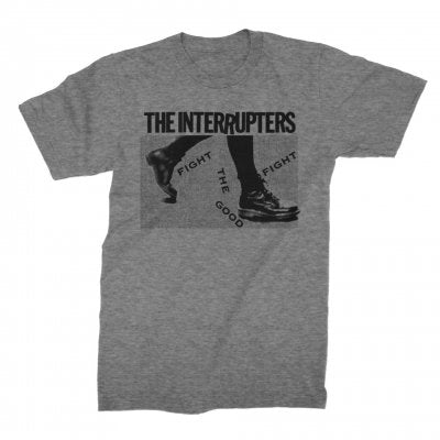 The Interrupters - Boots Tee (Grey)