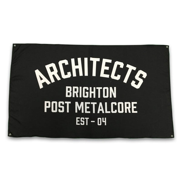 Architects - Brighton Post Metalcore Flag
