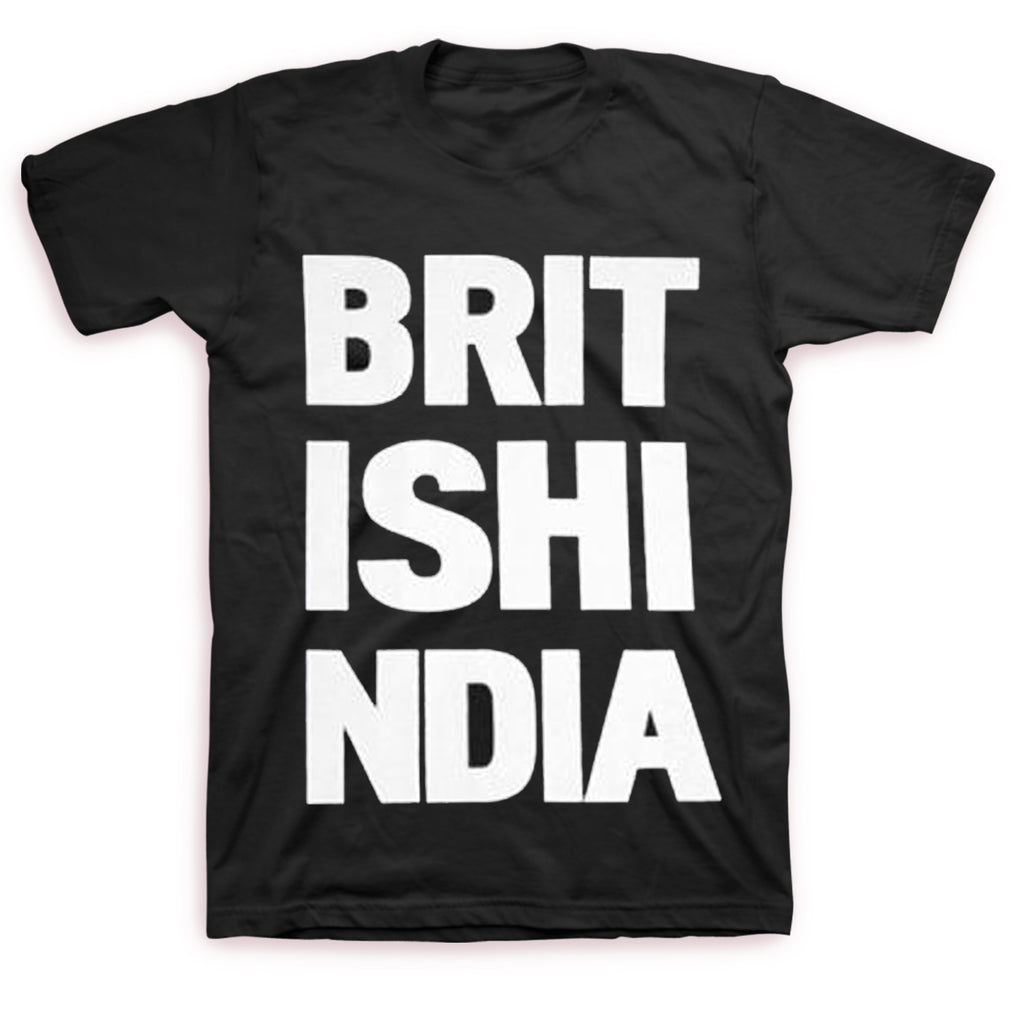British India - Stacked Logo T-shirt (Black)