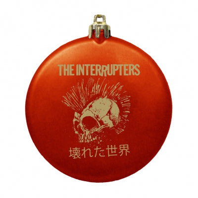 The Interrupters Broken World Ornament (Red/Gold)