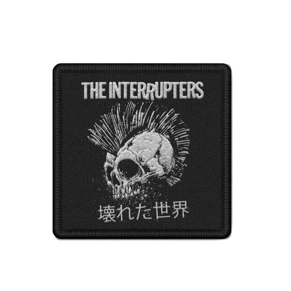 The Interrupters - Broken World Patch (Black)