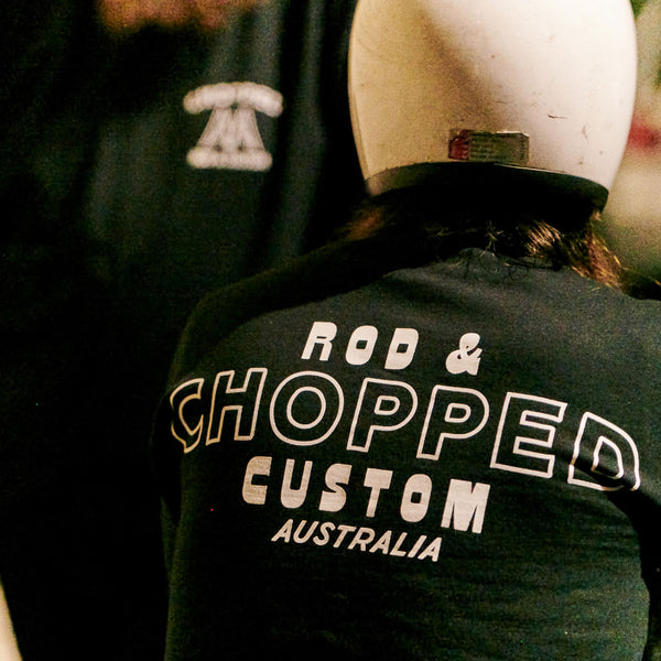 Chopped - Chopped Rod & Custom Crewneck (Black) back