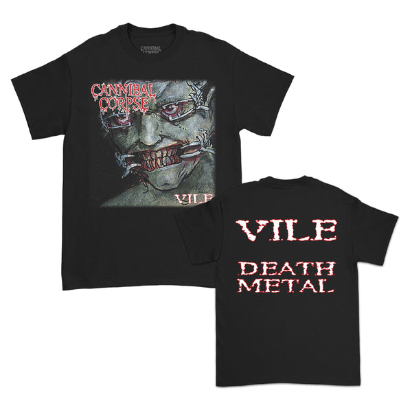 Cannibal Corpse - Vile DM T-Shirt (Black)