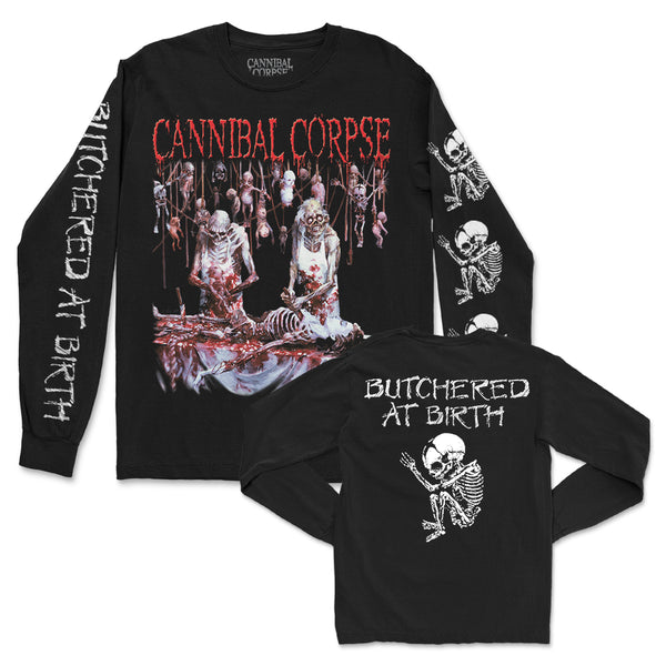 Cannibal Corpse - Butchered At Birth Long Sleeve (Black)