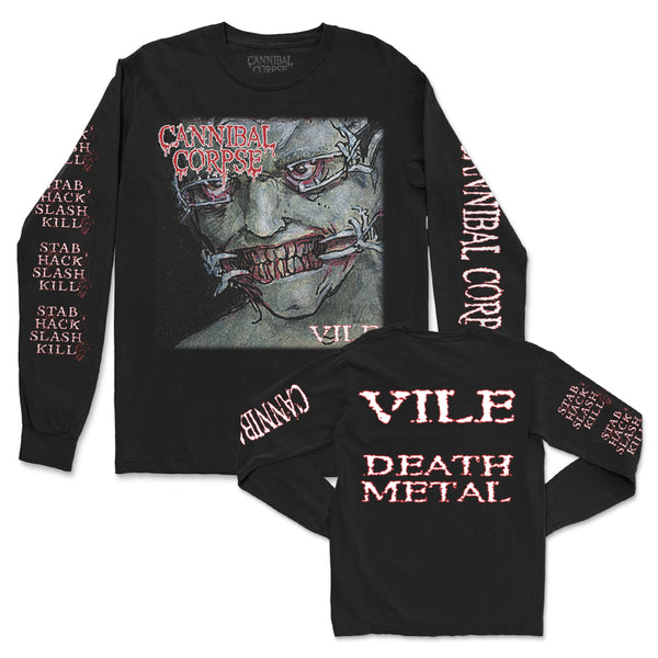 Cannibal Corpse - Vile Long Sleeve (Black)