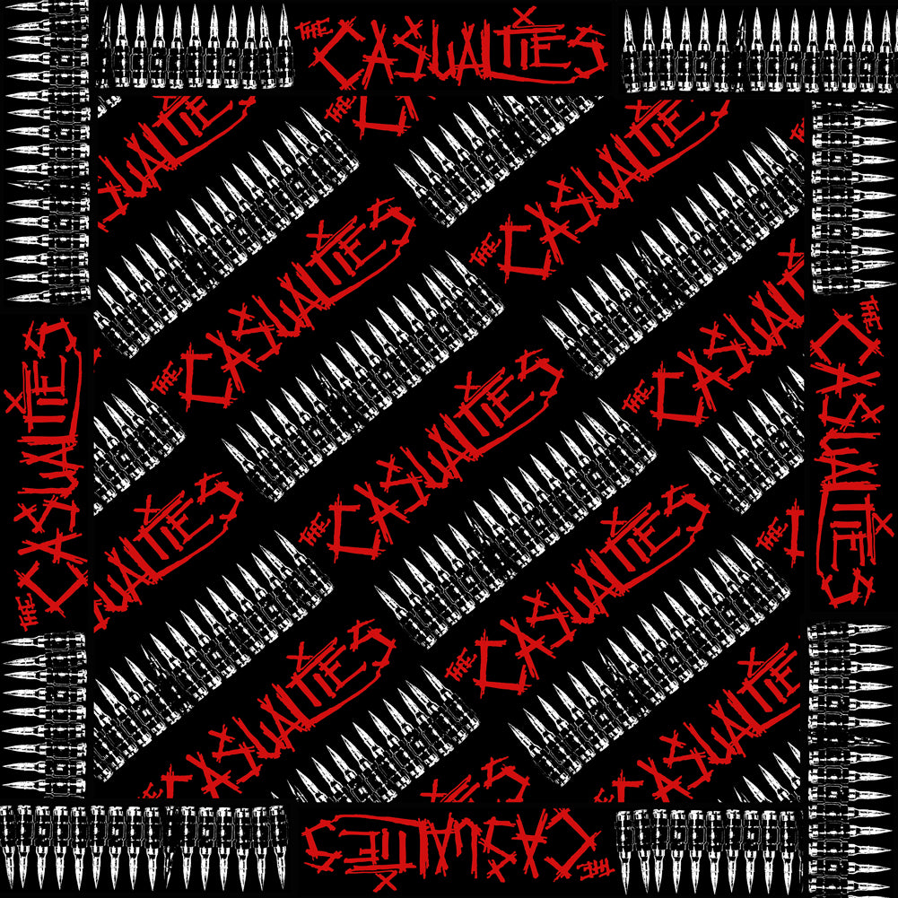 The Casualties - Bullets Bandana
