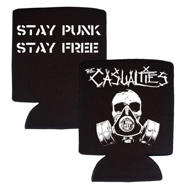 The Casualties - Gas Mask Stubby Holder