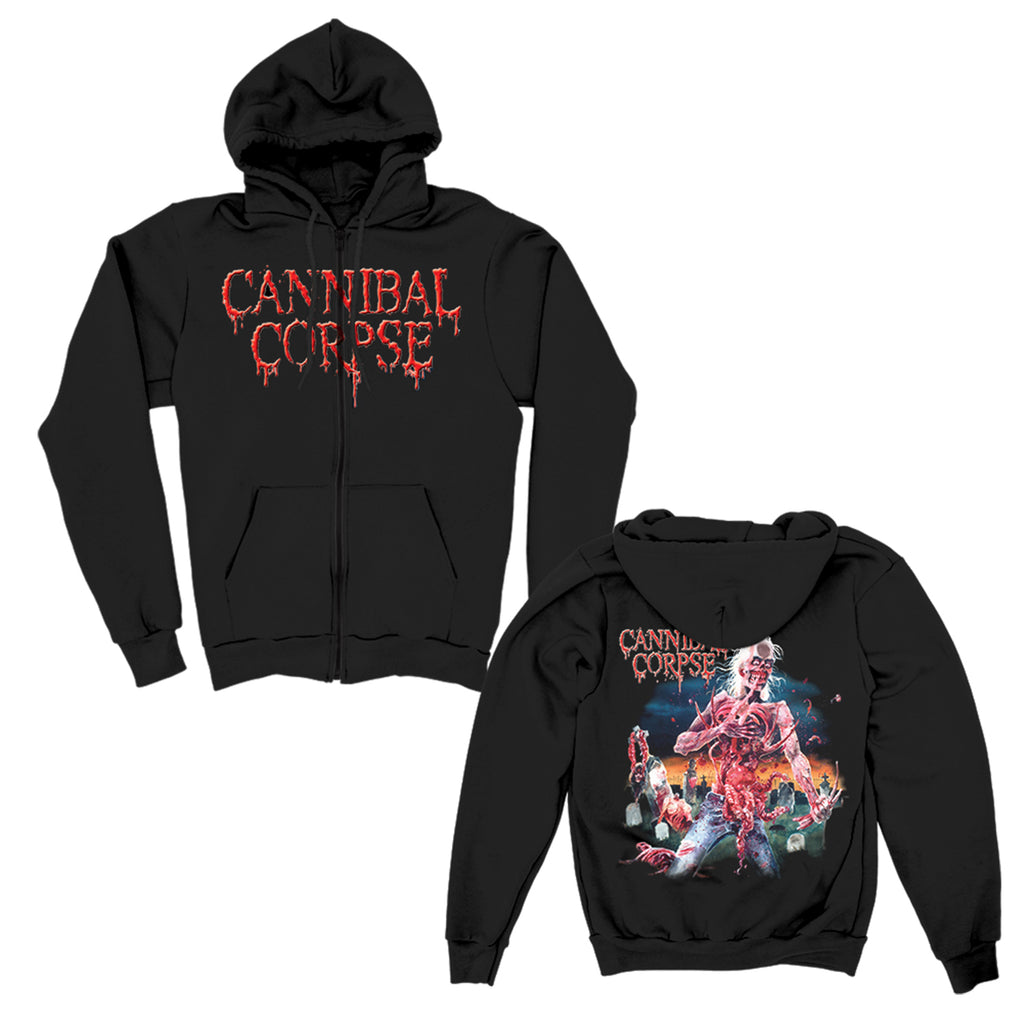 Cannibal Corpse - Eaten Back To Life Zip Up Hoodie (Black)