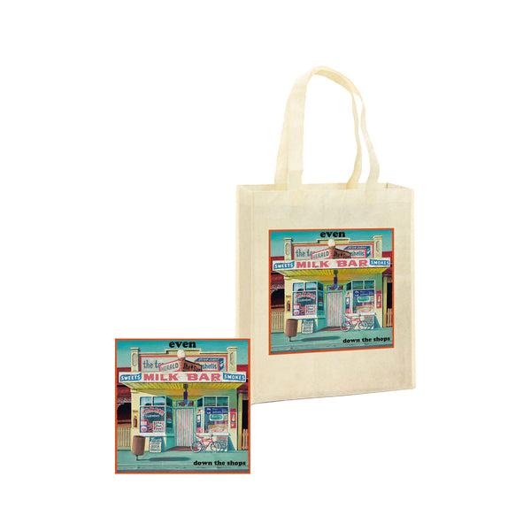 Down The Shops CD + Tote Bag